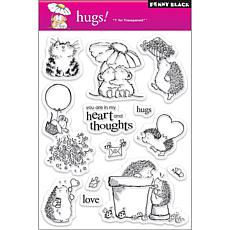 Penny Black Clear Stamps Sheet - Hugs