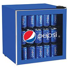 Pepsi 1.8 Cubic-Foot Compact Refrigerator with Glass Door