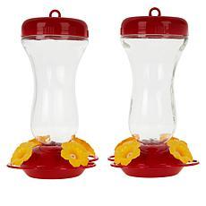 Perky Pet 16 oz. Top-Fill Hummingbird Feeder 2-pack