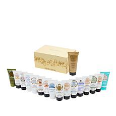 Perlier 17-piece Hand Cream Set with 16 Minis & 3.3oz Anti-Aging Cream