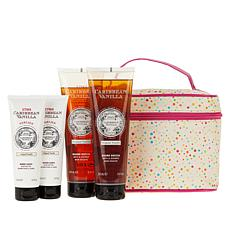 Perlier Caribbean Vanilla 4-piece Set with Tote