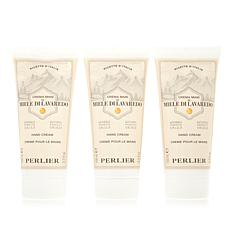 Perlier Honey Lavaredo Hand Cream 3-piece Kit