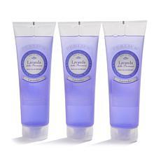 Perlier Lavender Foaming Shower Gel Trio
