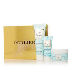 Perlier Lily of the Valley 3-piece Bath and Body Set with Box