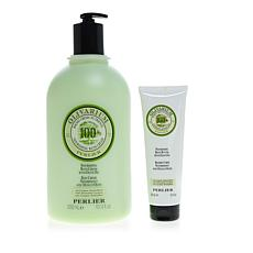 Perlier Olive Oil 2-piece Bath and Body Set