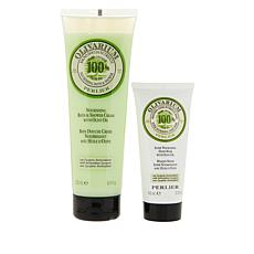 Perlier Olive Oil 2-piece Hand and Bath Set
