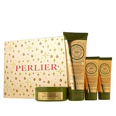 Perlier Olive Oil 4-Piece Holiday Set