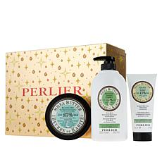 Perlier Shea Pear 3-Piece Holiday Set