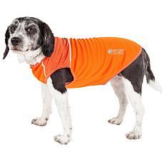 Pet Life Active Aero-Pawlse 4-Way Stretch Dog Tank Top T-shirt