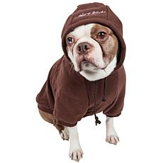 Pet Life Fashion Plush Cotton Pet Hoodie Sweater