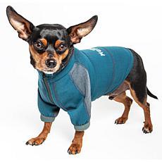 Pet Life Helios Eboneflow Medium Weight Performance Dog Yoga T-shirt