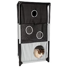 Pet Life Kitty Square Obstacle Cat House