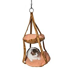 Pet Life Kittyhaus Dual-Lounger Kitty Hammock
