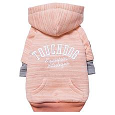 Pet Life Touchdog Hampton Beach Ultra Soft Cotton Dog Hoodie