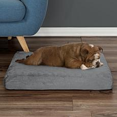 "PETMAKER Orthopedic Egg Crate/Memory Foam Pet Bed - 26"" x 19"""