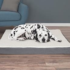 "PETMAKER Orthopedic Sherpa Top Pet Bed - 44"" x 35"""