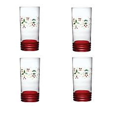 Pfaltzgraff Winterberry Set of 4 Coolers