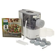 Philips Compact Pasta Maker with 7 Shaping Discs