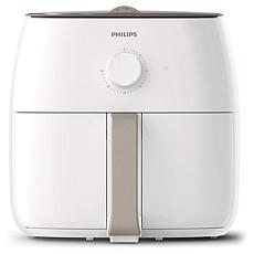 Philips XXL Airfryer with Twin TurboStar Technology and Recipe Booklet