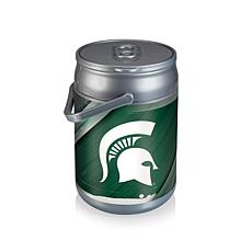 Picnic Time Can Cooler - Michigan State (Logo)