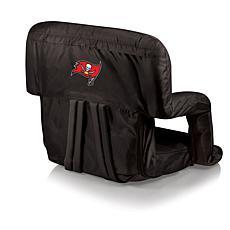 Picnic Time Folding Stadium Chair-Tampa Bay Buccaneers