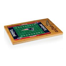 Picnic Time Glass Top Cutting Board-NE. Patriots