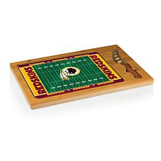 Picnic Time Glass Top Cutting Board-Washington Redskins