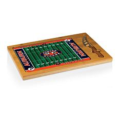 Picnic Time Glass Top Cutting Set - Auburn University