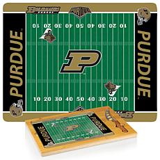 Picnic Time Glass Top Cutting Set - Purdue University