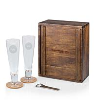 Picnic Time Officially Licensed NFL Beer Glass Gift Set - Washington