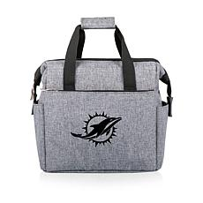 Picnic Time Officially Licensed NFL On The Go Lunch Cooler - Miami