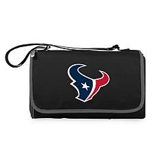 Picnic Time Officially Licensed NFL Picnic Blanket-Houston Texans Blck