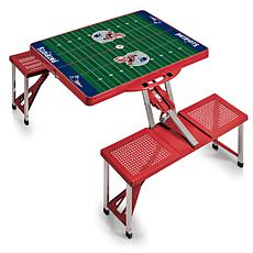 Picnic Time Picnic Table Sport - New England Patriots