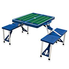 Picnic Time Picnic Table Sport - Univ. of West Virginia