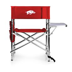 Picnic Time Sports Chair - University of Arkansas