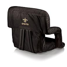 Picnic Time Ventura Folding Chair-New Orleans Saints