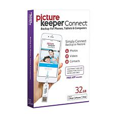 Picture Keeper Connect 32GB Smartphone Photo Saver and Storage Device