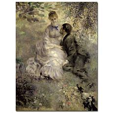 Pierre Auguste Renoir 'The Lovers 1875' Print 18x24