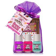 Piggy Paint Birthday Cake Shake Mini Polish 4-Pack