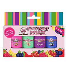 Piggy Paint Scented Fruit Fairy 4-pack