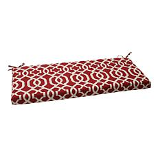 Pillow Perfect Outdoor New Geo Bench Cushion - Red