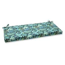 Pillow Perfect Outdoor Pretty Paisley Bench Cushion - N