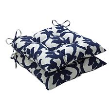 Pillow Perfect Set of 2 Outdoor Bosco Wrought Iron Seat