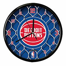Pistons Net Clock