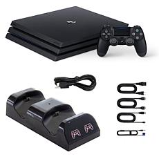 PlayStation 4 Pro 1TB Console with Dual Charging Cradle