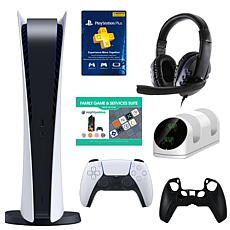 PlayStation 5 Console with 3-Month PSN Card, Accessories & Voucher