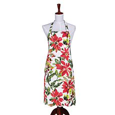 Poinsettia Berries Apron