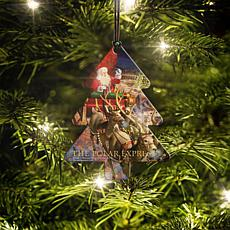 Polar Express Christmas Tree Hanging Acrylic
