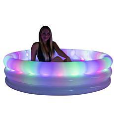 PoolCandy Illuminated LED Sunning Pool