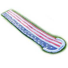 PoolCandy Stars and Stripes Collection Backyard Water Slide